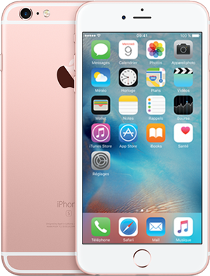 0f068f4f4a7 ... neuf avec forfait mobile Orange Jet 80Go. iPhone 6s Plus Or rose